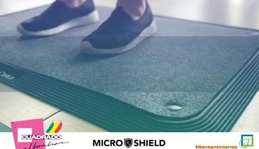 Microshiel Footbath System, Mat, Rug, Sanitization, Covid-19, Cuadrado Alfombras, Mill mats