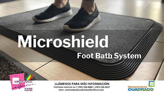Micro Shield Footbath System