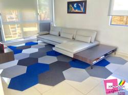 Interior Design Cuadrado Alfombras