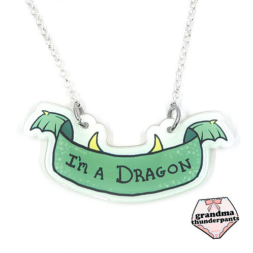 I'm a Dragon Necklace