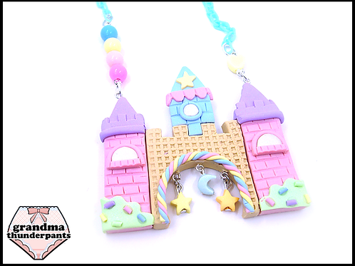Ultra Candy Castle Necklace