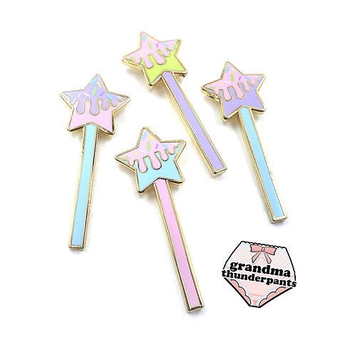 Pastel Star Pop Enamel Pin