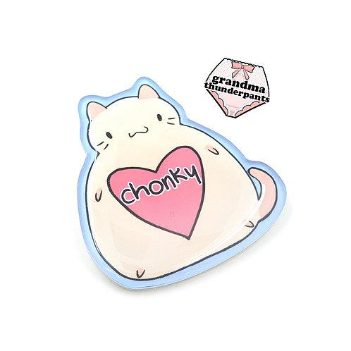 CHONKY Cat Pin