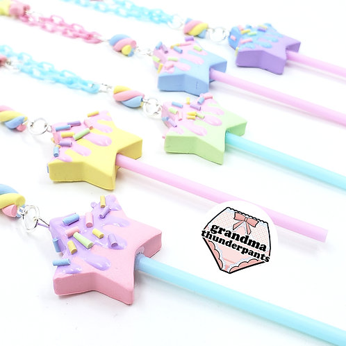Pastel Star Pop Necklace