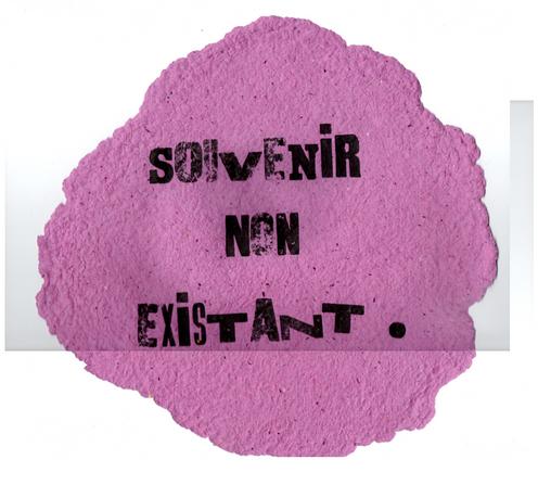 souvenir non existant