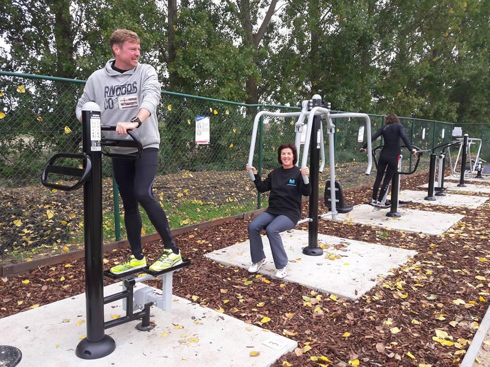 Opening Outdoor Fitness Merchtem
