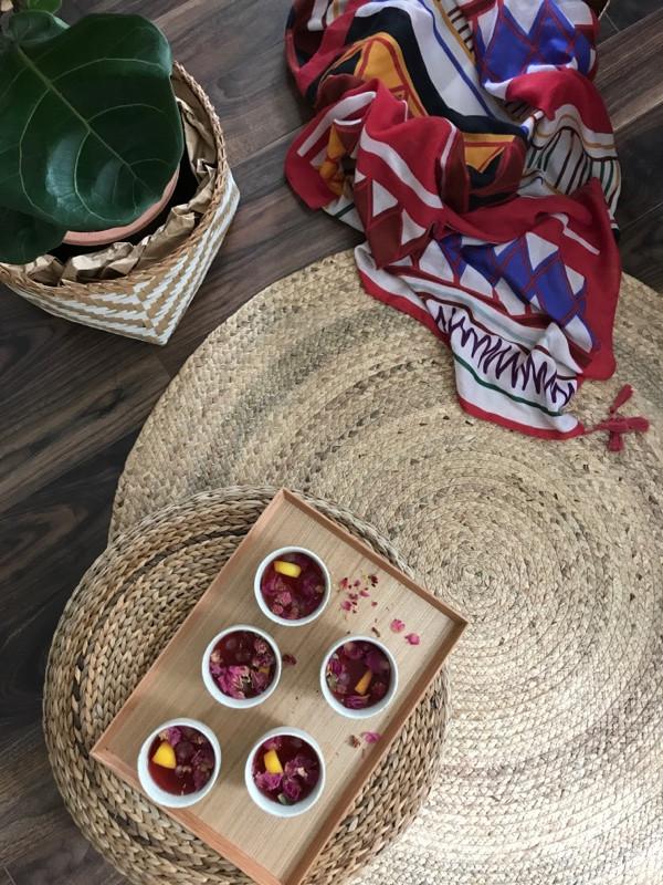 Easy tea mocktail with Zippysparkles' Radiance Beauty Blend