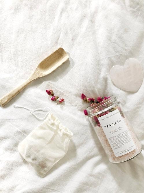 Tea Bath - Bergamot, Rose & Green Tea