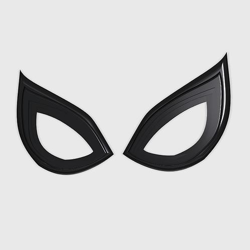 Insomniac spider-man lenses closed