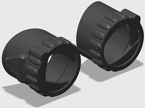Homemade spider-man lenses