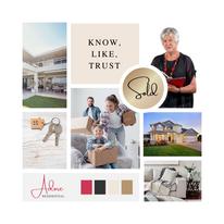 Adore residential / Nola Debney - brand design