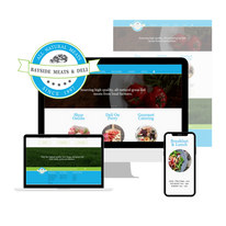 Bayside Meats - logo adaption and website design