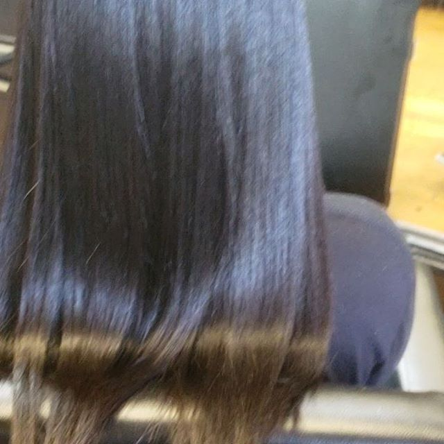 Silk Press on 100%natural hair