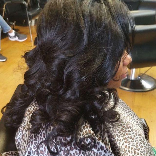Full Weave Sew In_Stylist_ Kanessa_www