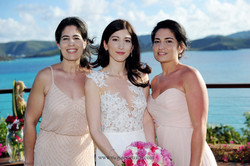 Marissa and sisters - Necker Island