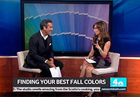 NBC - New York Live - Find Your Best Fall Color