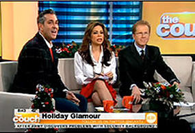 CBS Live From the Couch - Holiday Fashions