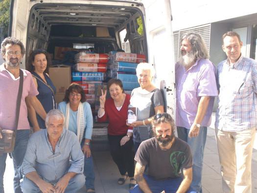 Éxito de la Campaña Material Sanitario para Gaza
