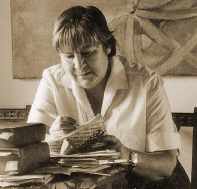 La palabra de la poeta Gloria Fuertes  en nuestra Acción Literaria on line contra las Violencias