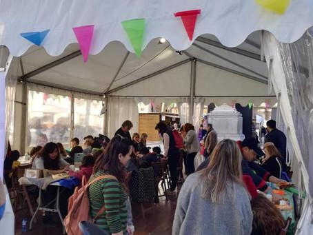 Éxito de público y una variada oferta de actividades en el Mercat de Nadal de Vilanova