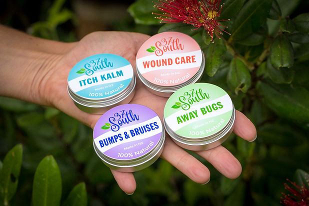 Natural first aid creams, natural insect repellant, natural anti itch cream, natural wound repair, natural bruise cream, natural injury creams, NZ made