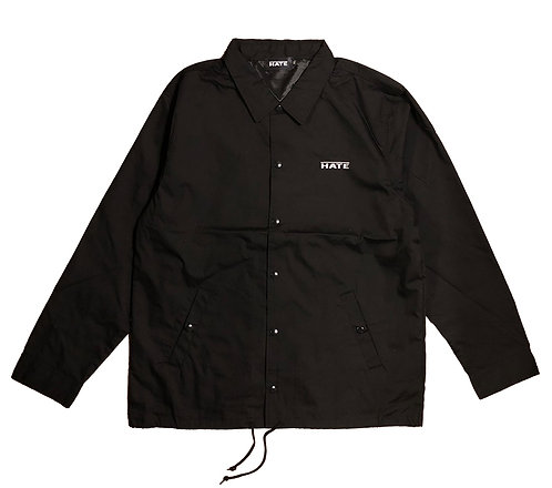 HATE Logo Coach Jacket