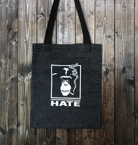 APE DENIM TOTE BAG
