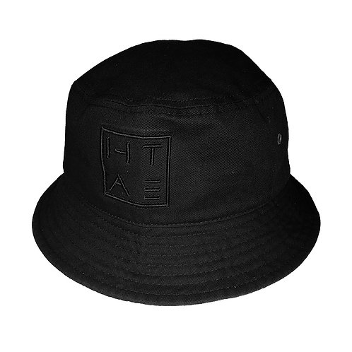HATE SQUARE BUCKET HAT