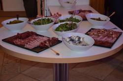 Buffet raclette