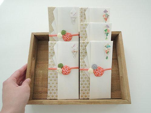 梅づくしの祝儀袋 Ⅱ 〜小梅グレー〜