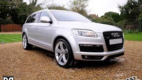Audi Q7 - Maintenance Wash