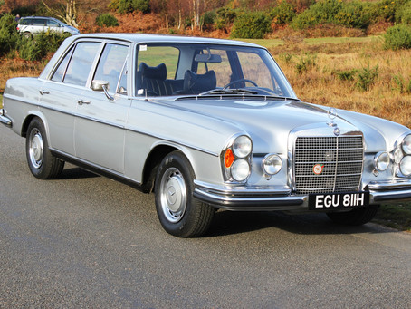 Previously sold Classic Mercedes-Benz's