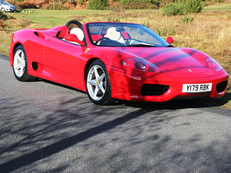 Previously Sold Ferrari 360/430 at The Classic Connection