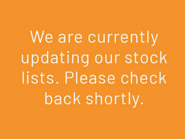 We are currently updating our stock lists.