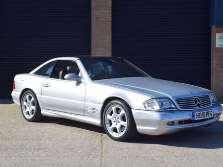 2001 Mercedes SL500 Silver Arrow (51)