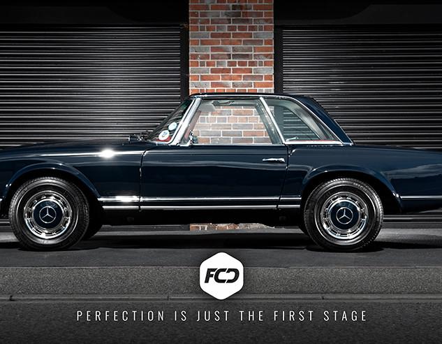 Mercedes Benz 280 SL - Enhancement Detail