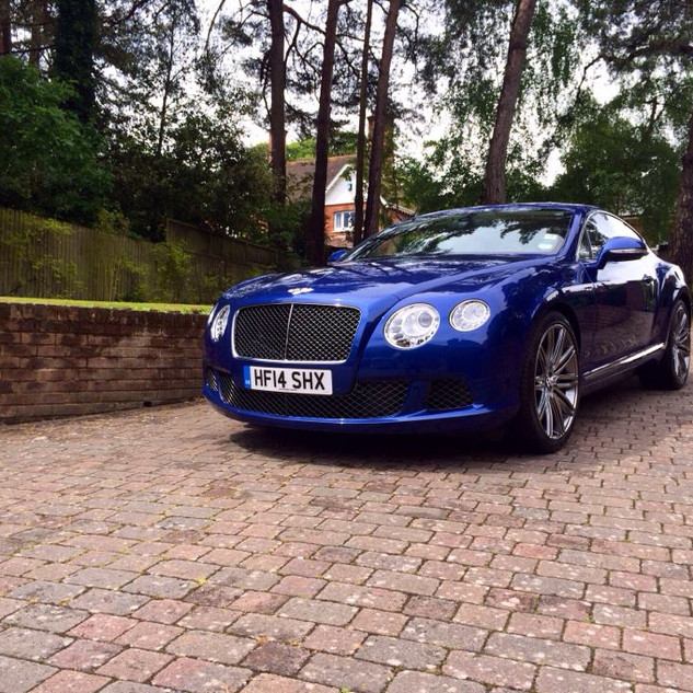 Bentley Continental - Maintenance wash