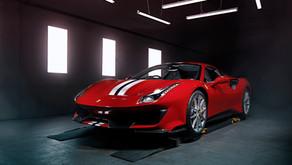 Ferrari 488 Pista - Full Xpel PPF Coverage