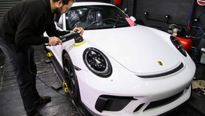 Porsche GT3 - New Car Detail Featuring Gtechniq and Xpel PPF