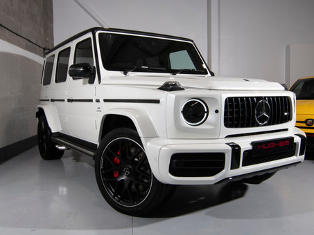 The new Mercedes G-Wagon