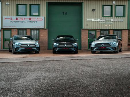 The all new Mercedes-Benz E Class 2021