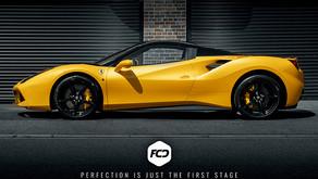 Ferrari 488 GTS Spider - New Car Prep and Xpel Application