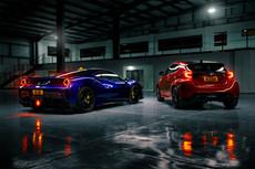 Ferrari 488 Pista & Toyota Yaris GR