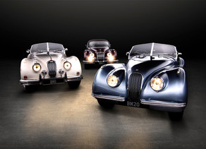 Jaguar XK120, XK140 and XK150 Photo Shoot
