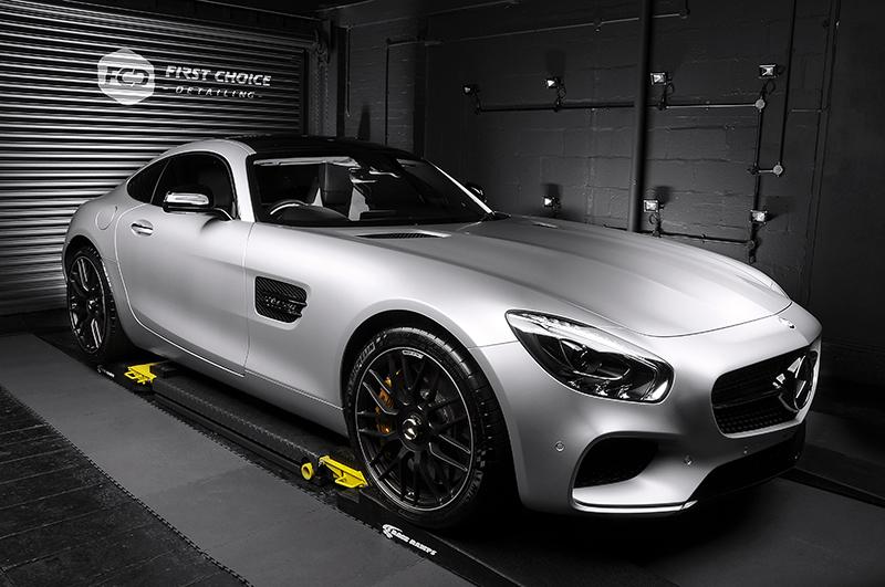 Mercedes Benz AMG GTS - Silver (1)