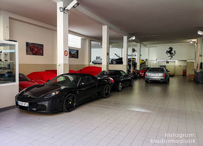 Off Topic - Visiting the Home of the Supercar.