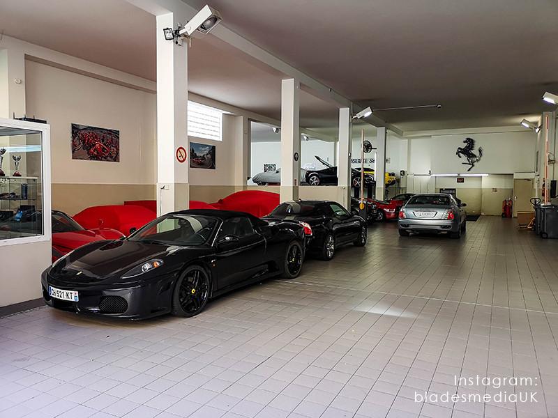 Ferrari Garage Monaco