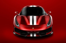 Ferrari 488 Pista Magma Red