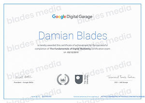Google The Fundementals of Digital Marke