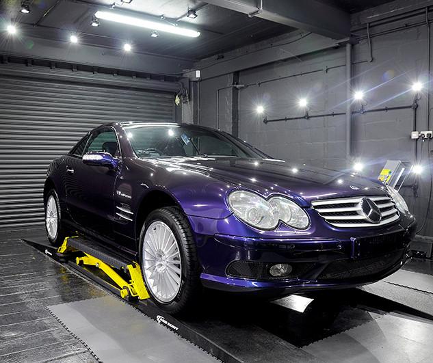 Mercdes Benz SL55 - Enhancement Detail